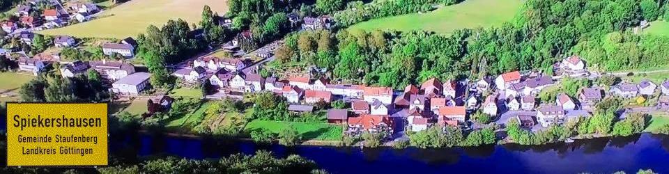 Spiekershausen in Südniedersachsen an der Fulda